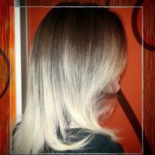 Город контрастов! Иногда хочется быть блондинкой только на половину! :)