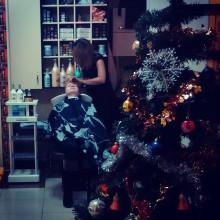 Потихоньку готовимся к Новому Году)  Сегодня приготовлениями занята Мари…))