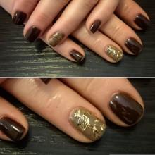 Осеннее золото: драгоценный листопад от Ксении Степановой! Для записи в салон звоните  687-20-55