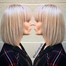Зимний блонд от мастера @begoody.spb Кристины Ермолаевой. Роскошный зимний блонд.