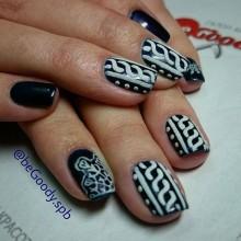 Зимний сон. Восхитительные дизайны от мастера @begoody.spb Екатерины Ивковой! Для записи звоните  687-20-55