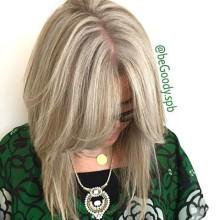 Холодный блонд. Держись зима! Работа мастера @begoody.spb Кристины Ермолаевой. Для записи звоните  687-20-55