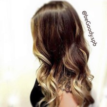 #Окрашивание #омбре с высветлением передних прядей. Безупречное стильное окрашивание волос от мастера @begoody.spb Кристины Ермолаевой. Звоните  687-20-55