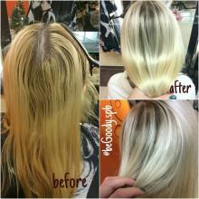 Глянцевый #блеск и хороший прохладный #блонд от мастера @begoody.spb Кристины Ермолаевой. Звоните  687-20-55