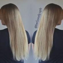 И снова блонд в тренде!  Нежное омбре от мастера @begoody.spb Лины Черновинской! Звоните  687-20-55