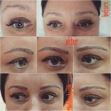 #Микроблейдинг #6d от косметолога @begoody.spb Ольги Архиповой. Аккуратные #брови с прорисовкой волосков. Для записи звоните  687-20-55 или пишите