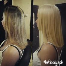 Приятные блонды от мастеров @begoody.spb. Карамельные, молочные, пшеничные… Звоните  687-20-55 или пишите