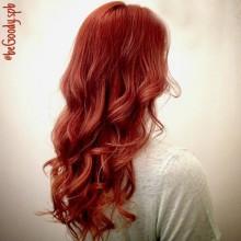 Огненный. Настоящий. Позитивный!  Яркое окрашивание волос от мастера салона Марии Рудаковой.  Для записи звоните  687-20-55 или пишите