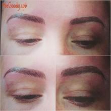 #Микроблейдинг #6d. Безупречные брови от косметолога @begoody.spb Ольги Архиповой. Для записи звоните  687-20-55 или пишите