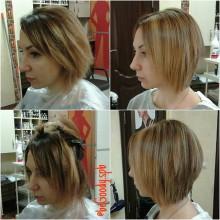 #Форма – важная составляющая составляющая любой #причёски. Стрижка от мастера @begoody.spb Марии Рудаковой. Для записи звоните  687-20-55 или пишите