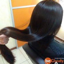Идеальные волосы!🏻Кератиновое выпрямление волос от нашего мастера Лии.Для записи ️ 389-59-53 или пишите в Direct