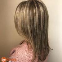 Мелирование волос и стрижка