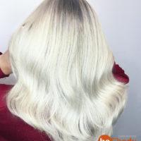 Пепельный блонд с затемнением. 687-20-55